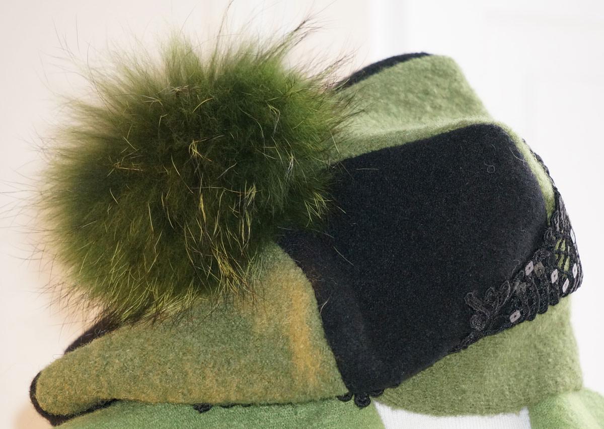Mütze hellgrün